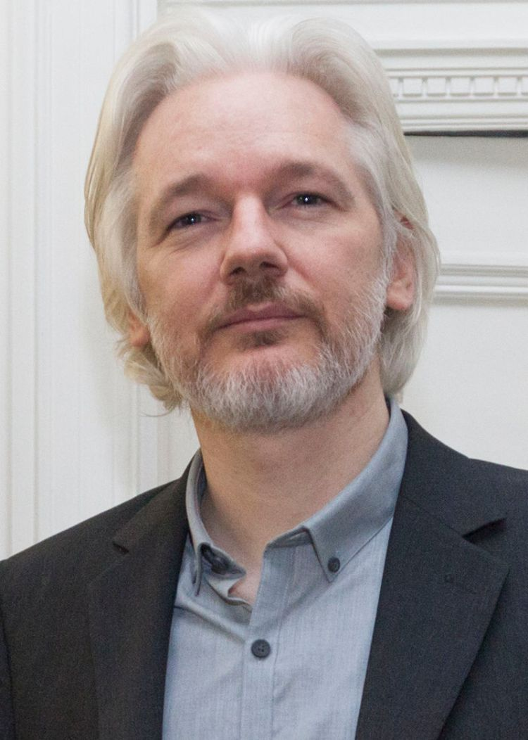 Julian Assange - August 2014; Photo:  David G Silvers CC BY-SA 2.0